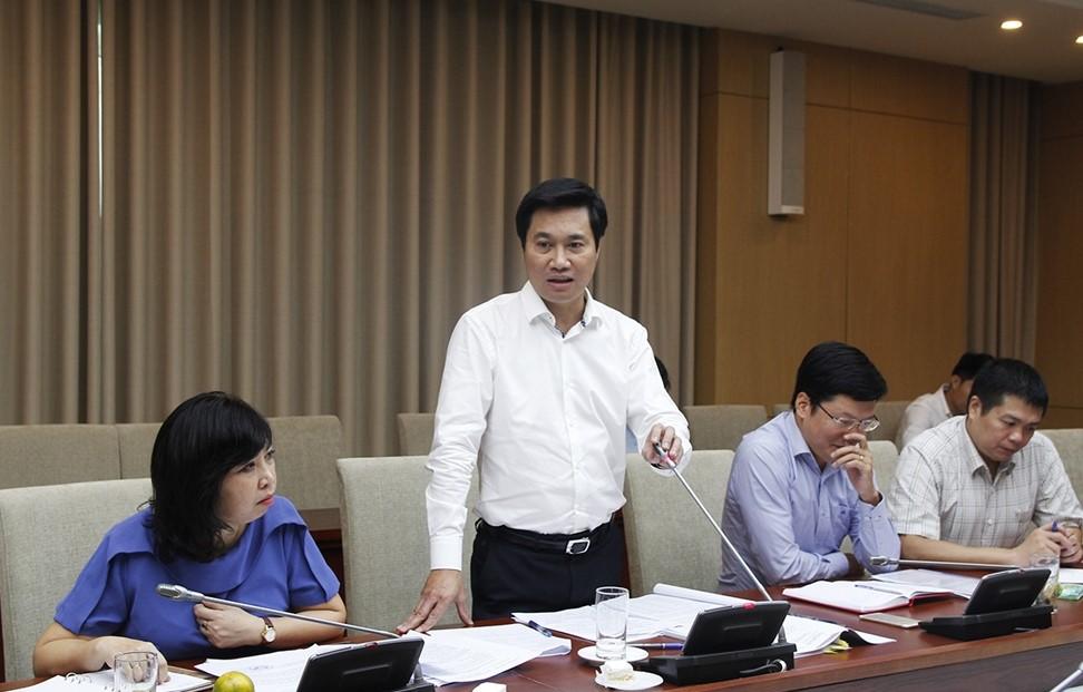 Thứ trưởng Bộ Xây dựng Nguyễn Tường Văn
